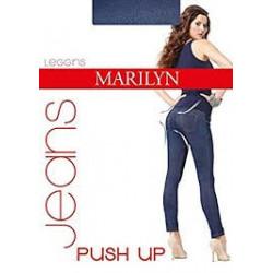 legíny jeans plus up
